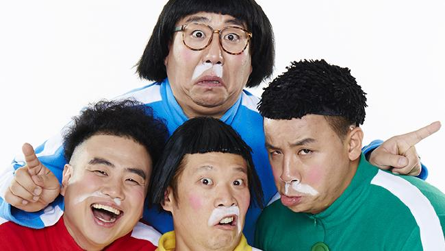 Korean Comedians Ongals