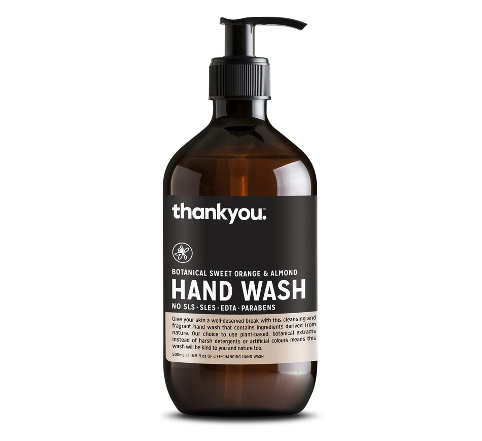 thankyou branded hand wash