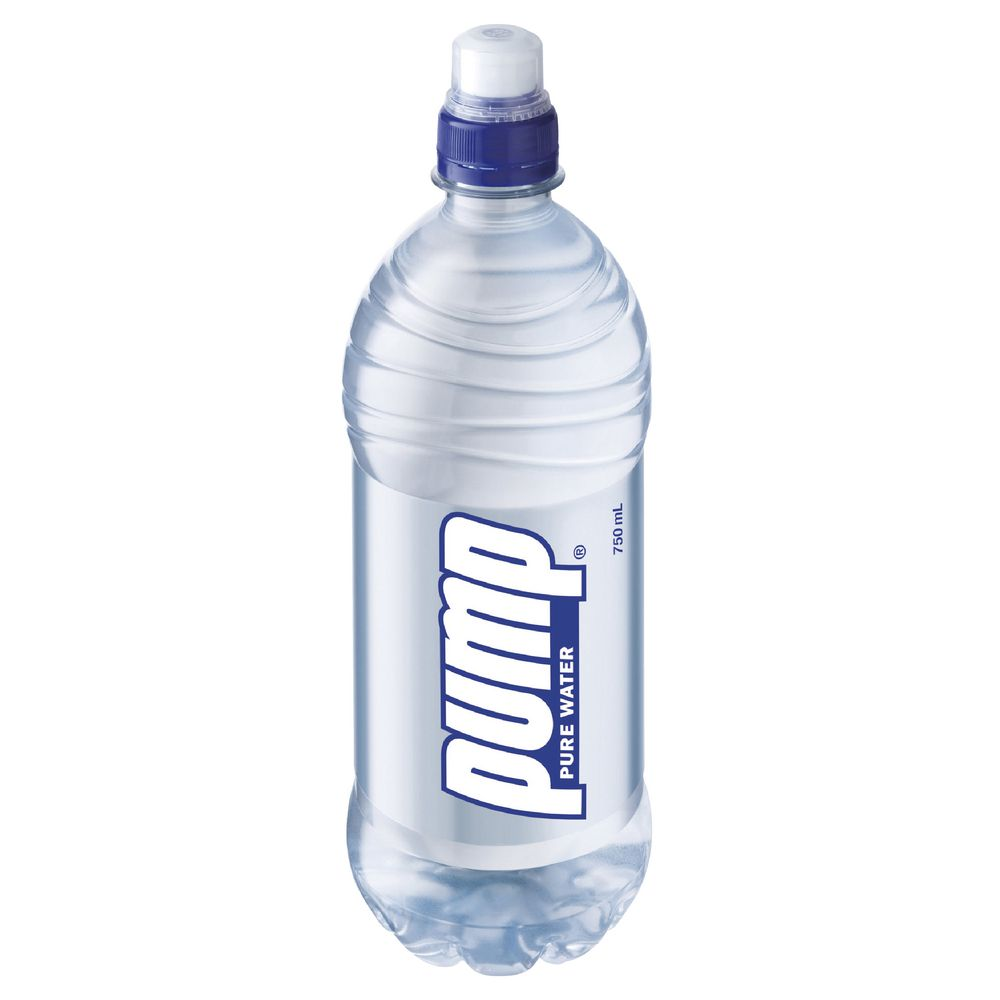 750ml bottle of Pump Water