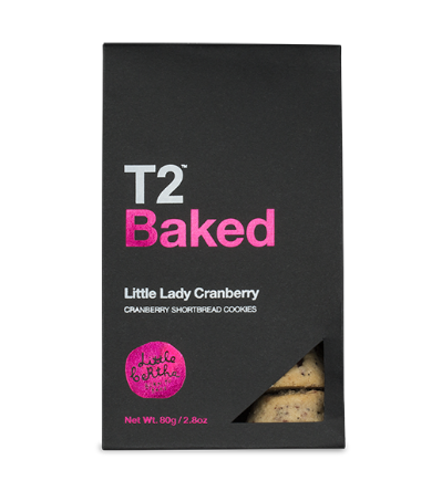 T2 baked biscuits little lady cranberry