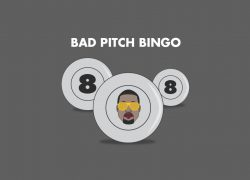 Bad Pitch Bingo