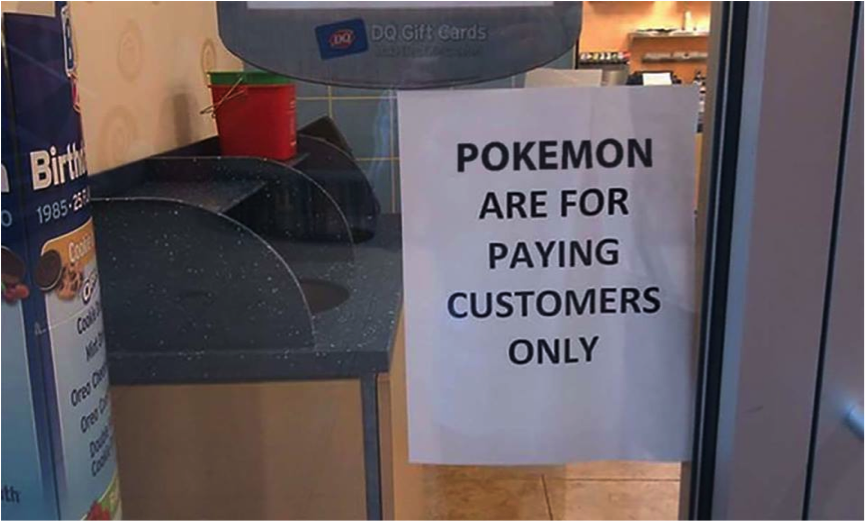 pokemon go are for paying customers only